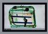 X-ray of a suitcase at the airport