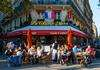 street cafe in Paris, France