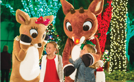 Rudolph s ChristmasTown at SeaWorld Orlando.